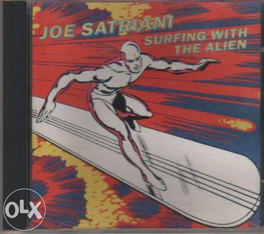 Cd joe satriani surfing with alien