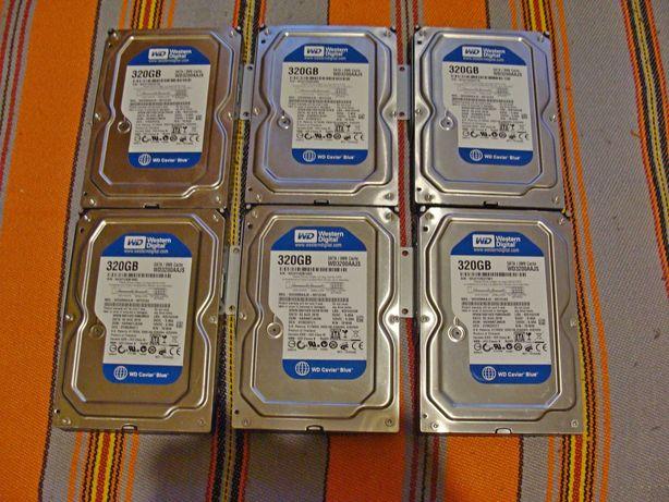 "Dysk twardy Western Digital   WD 320GB Sata II 7200 rpm 3.5 "" (opis)"