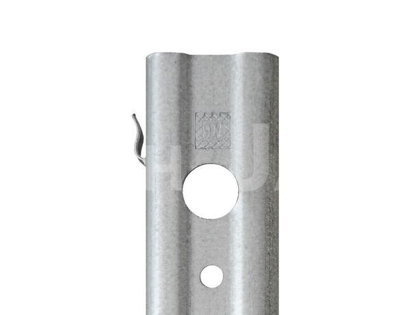 Słupki ogrodzeniowe SIATKA LEŚNA ocynk 50X30X1,5mm H-1,8M