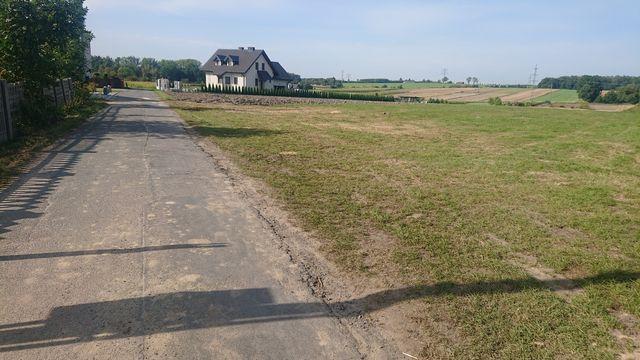 Działka budowlana z wydanym pozwoleniem na budowę Wieszowa ul Jagodowa