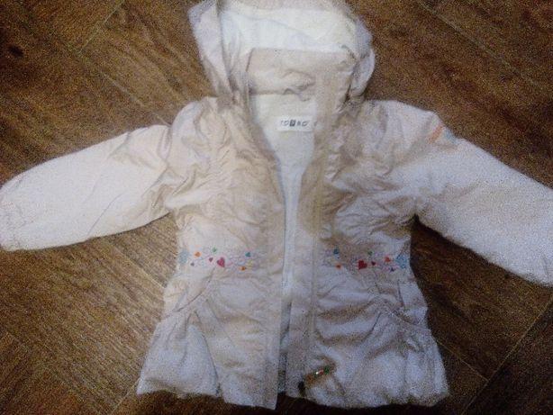 Куртка-ветровка на девочку 2-4 лет