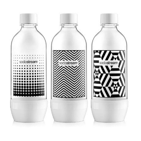 Butelki Sodastream 1l Clasic black&white