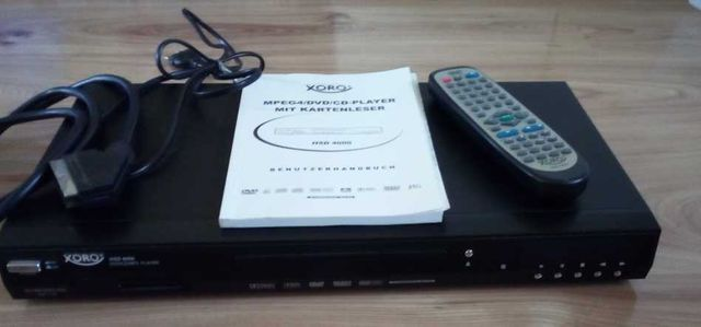 Odtwarzacz DVD/MPEG4/MP3/XViD/JPEG player Xoro