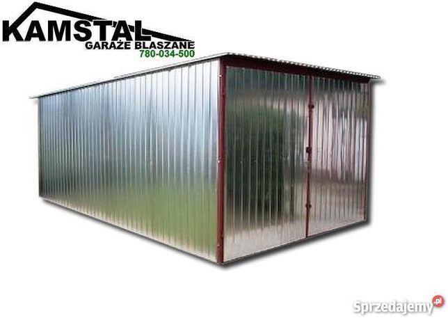 Garaż blaszany 3x5 garaże blaszane ocynk Wzmocniony krótkie TERMINY