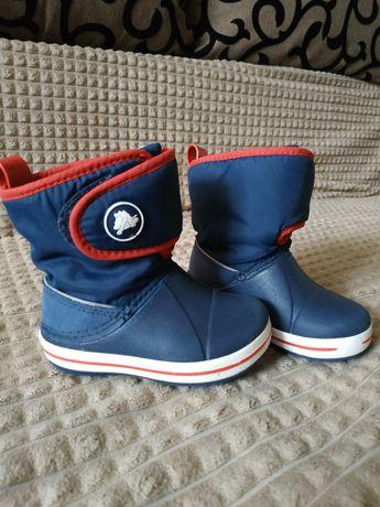 Ботинки сапоги crocs c7