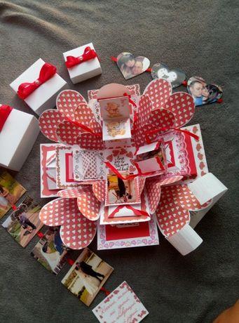 Коробочка с сюрпризами, Волшебная коробочка с фото,подарок на 14феврал