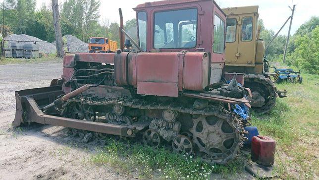 Бульдозер ДТ-75 (с отвалом)