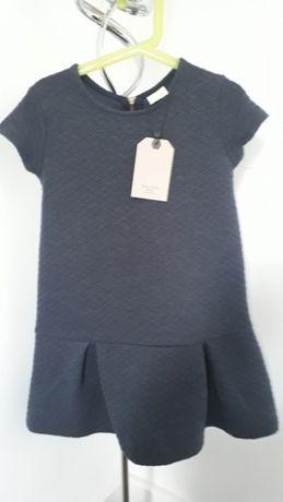 Sukienka nowa Zara r. 5/6 lat 116 cm.