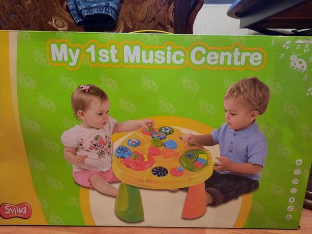 Stolik muzyczny Smyk -zabawka interaktywna