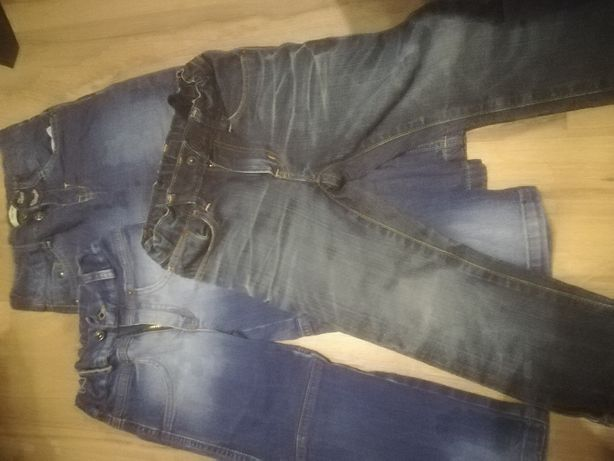 Dwie pary spodni -104 + gratis