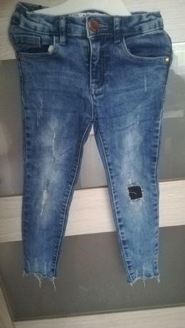 Spodnie Jeans Skinny DENIMCo roz 110