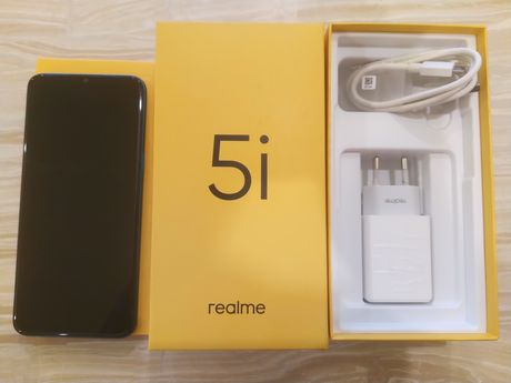 "Realme 5i, 6,5"", 4/64 Гб, 5000 мАч, Snapdragon 665 IE, голубого цвета"