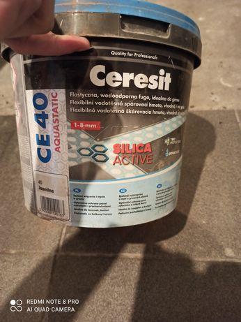 Fuga ceresit new white (01), jasmine (40), coal (18)