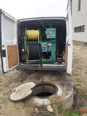 Udrażnianie rur,Czyszczenie kanalizacji,Inspekcja kamerą