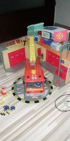 Strażak Sam Remiza strażacka wóz strażacki