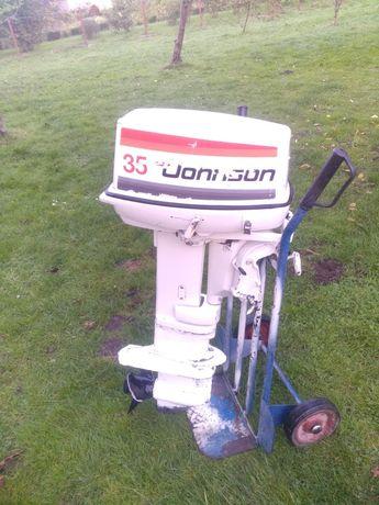 Silnik zaburtowy Johnson 35 rozrusznik