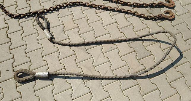 Sprzedam line, łańcuch, lina.