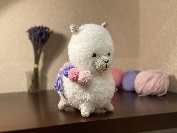 Игрушка альпака лама