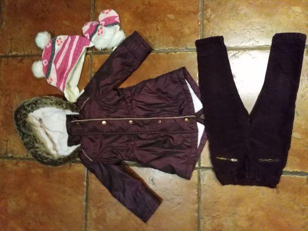 Куртка парка пальто 1-2годика
