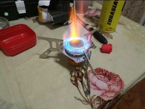 Газовая печка плита горелка примус переходник портативная