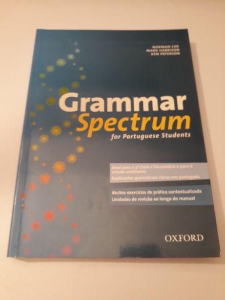 Gramática inglês Grammar Spectrum NOVO oferta portes