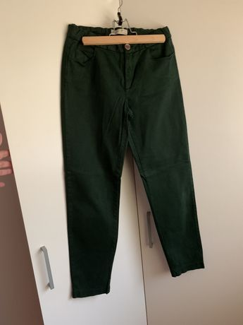 Calças verde T.10