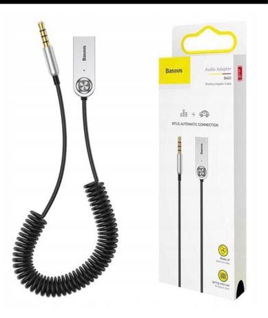 BASEUS BA01 odbiornik transmiter Bluetooth adapter AUX/USB