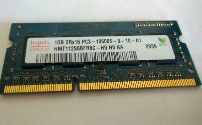 ОЗУ DDR3 1 GB Hynix so-dimm
