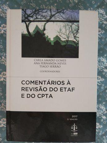 Comentários À Revisão do ETAF e CPTA