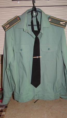 Форменная рубашка с длинным рукавом р.38
