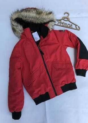 Куртка бомбер демисезонная р.146, фирма H&M