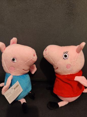 Świnka Peppa maskotki mówiące po Polsku ! Nowe!!