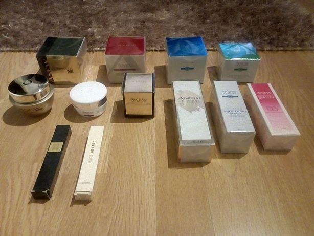AVON zestaw 10 kremów ANEW + 2 perfumetki. Nowe w folii !!!