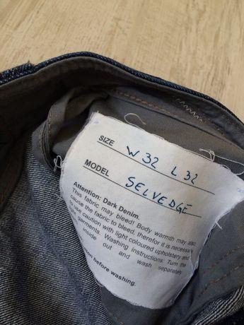 Hugo Boss jeans dżinsy Selvedge W32 L32 oryginalne r. M/L