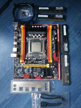 Комплект Kllisre X79 V2 2.72А 2011 + Xeon E5-2620 + 16Gb DDR3 ECC