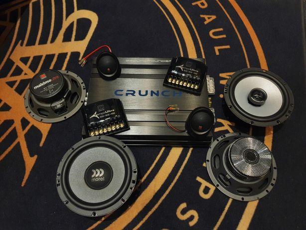 Montaż Car Audio Będzin Śląskie głośniki wzmacniacze wygłuszenia