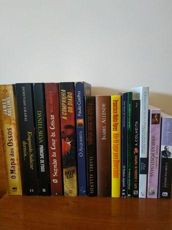 Livros vários autores 4€ cada