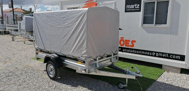 Atrelado /Reboque MARTZ PREMIUM 2,36M com Lona de Cobertura