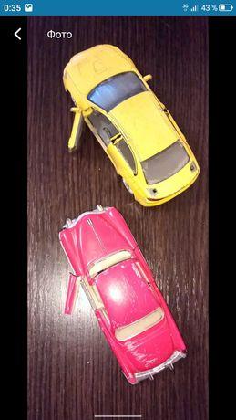 Машинки металлические авто кабриолет Митсубиси модель