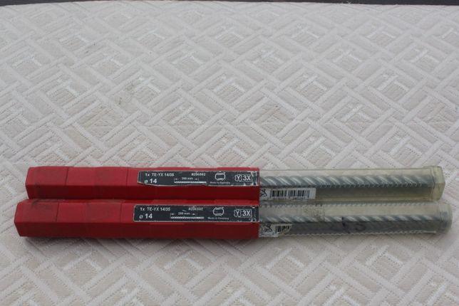 Brocas HILTI Novas 14/35 C/ Encaixe SDS MAX (Nas caixas originaisc