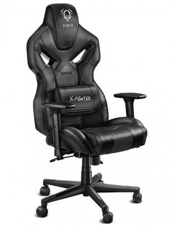 Fotel Diablo Chairs X-Fighter Czarny