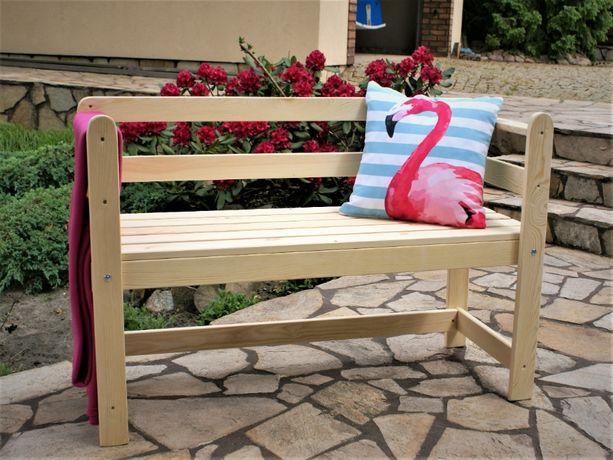 Ławka ogrodowa drewniana wypoczynkowa Afrodyta
