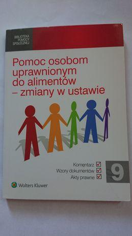 Książka Pomoc osobom uprawnionym do alimentów - zmiany w ustawie