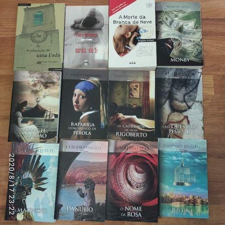 Livros vários de ficção