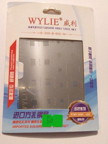 BGA трафарет Wylie WL-50 для реболинга BCM WTR