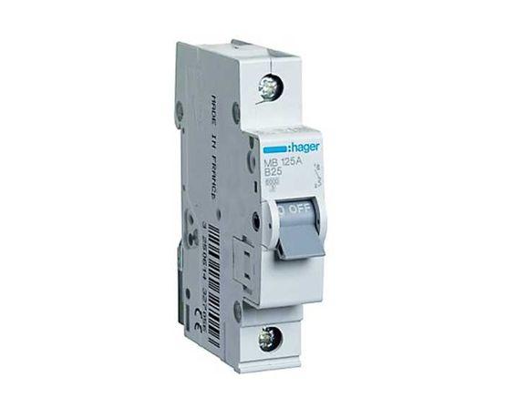 Автоматический выключатель Hager 1-п, 6kA, 25А