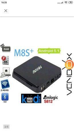 Android 5.1 Smart TV Box M8S+ Kodi QuadCore 2GB RAM