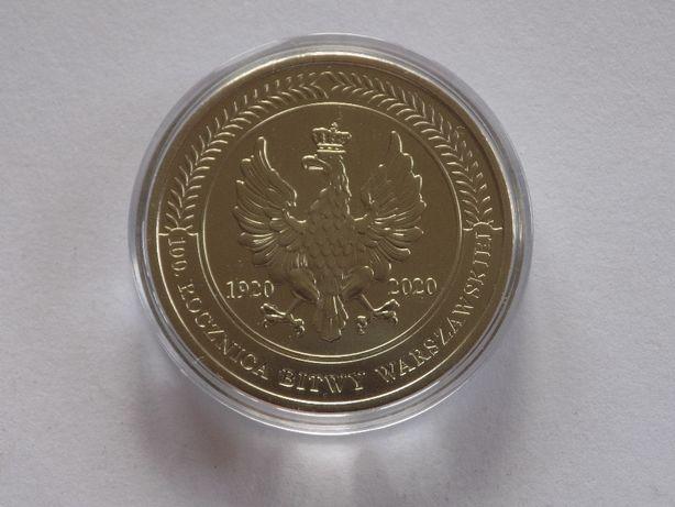 Medal / numizmat Bitwa Warszawska 1920 Cud Nad Wisłą + album