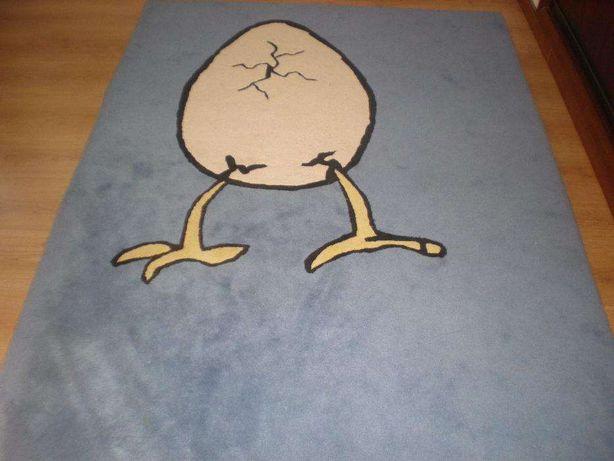 Carpete / Tapete 100% pura lã. O.A.T quarto criança