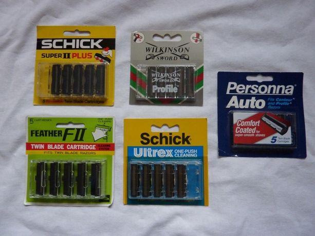 сменные кассеты для бритья